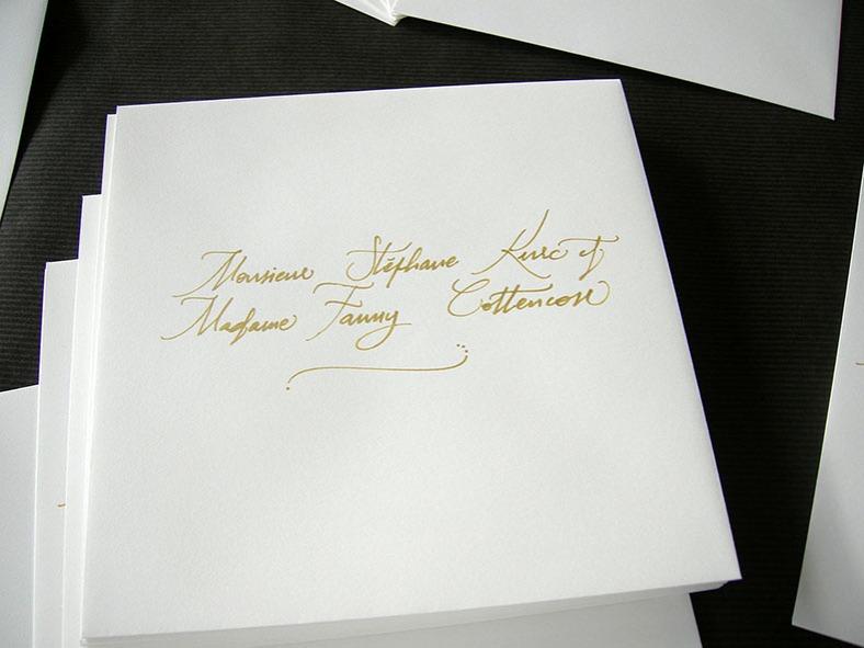 Calligraphie enveloppe, calligraphie enveloppes, calligraphie invitation, calligraphie invitations, calligraphie enveloppes mariage paris, calligraphie invitations mariage paris, calligraphie mariage paris, calligraphe paris, calligraphie paris